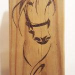 quadretto su legno (g)