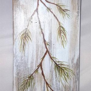 quadretto su legno (k)