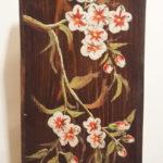 quadretto su legno (l)