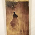 quadretto su legno (q)