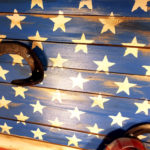 appendi abiti da parete stars and stripes