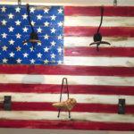 bandiera usa appendiabiti tradizionale