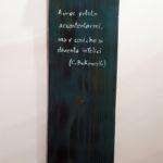 cavatappi da parete con secchiello e scritta (b)