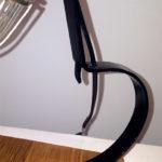 cicogna in ferro per lampada