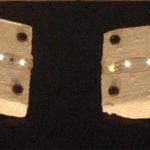 dettaglio lampada con striscia led