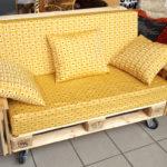 divano 2 posti con ruote