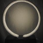 lampada rotonda da appoggio con led