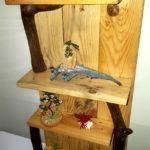 mensola di legno da appendere