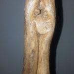 ohana la famiglia in un pezzo di legno