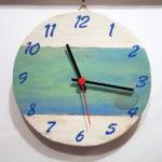 orologio colorato bianco (f)