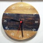orologio colorato blu (e)