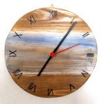 orologio colorato effetto mare (d)