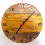 orologio colorato giallo (c)