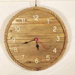 orologio da parete con corda
