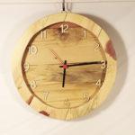 orologio da parete con vetro (a)