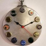 orologio da parete su tegame (d)