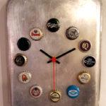 orologio su teglia di alluminio (e)
