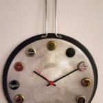 pentola orologio da parete (f)