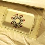 piattino ceramica decorato a mano