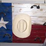 porta abiti bandiera texas