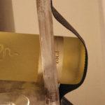 porta bottiglie e porta calici in legno di recupero