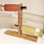 portabottiglie da esposizione quercia