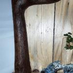 reggi mensola con rami di albero