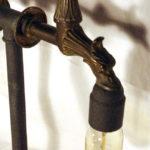rubinetto vintage per abat jour
