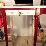 tavolo per computer restaurato