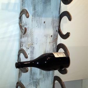 Porta bottiglie da parete per 5 bottiglie