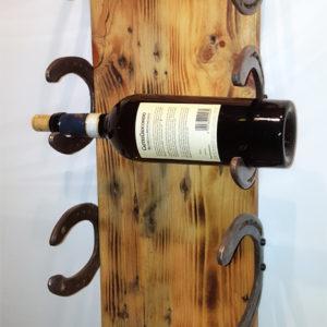 porta bottiglie da parete per 4 bottiglie