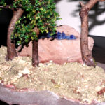 bonsai di perline in boschetto