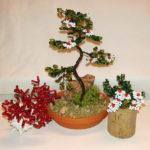 composizione mista bonsai di perline (A)
