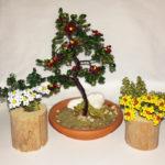 composizione mista bonsai di perline (E)