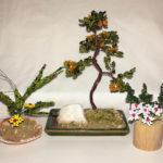 composizione mista bonsai di perline (G)