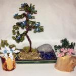 composizione mista bonsai di perline (K)