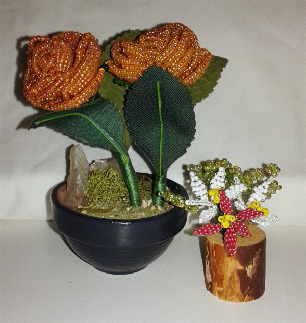 composizione mista bonsai di perline (N)