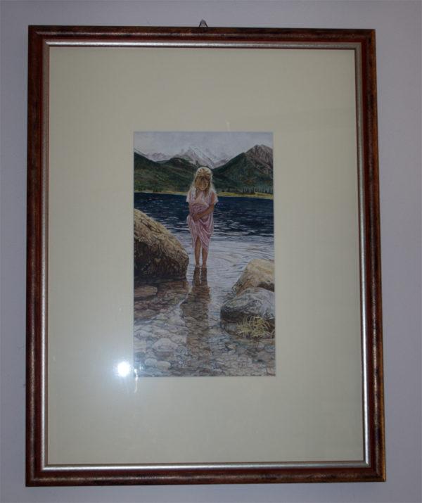 Bambina al lago (omaggio a Steve Hanks)_c