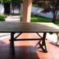 tavolo da paranzo per esterni